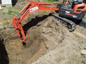 (2) Digging
